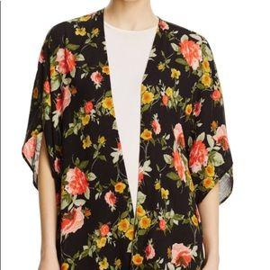 Bloomingdales Ooberswank Floral Kimono SZ L